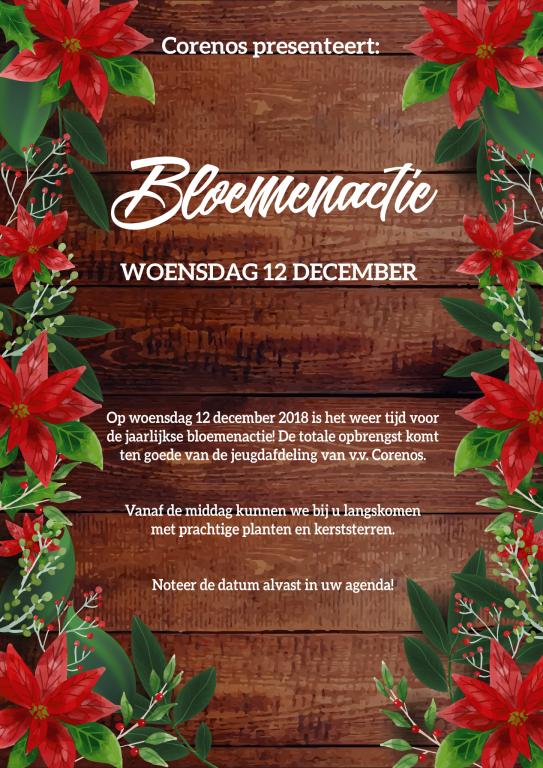 Bloemenactie 12 december