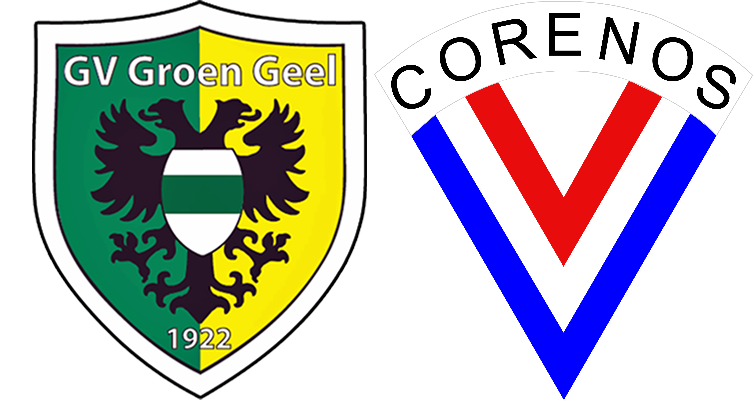 GV Groen Geel - vv Corenos