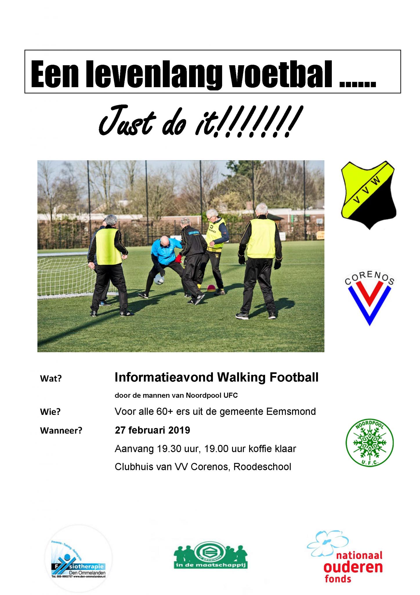 Informatieavond Walking Football