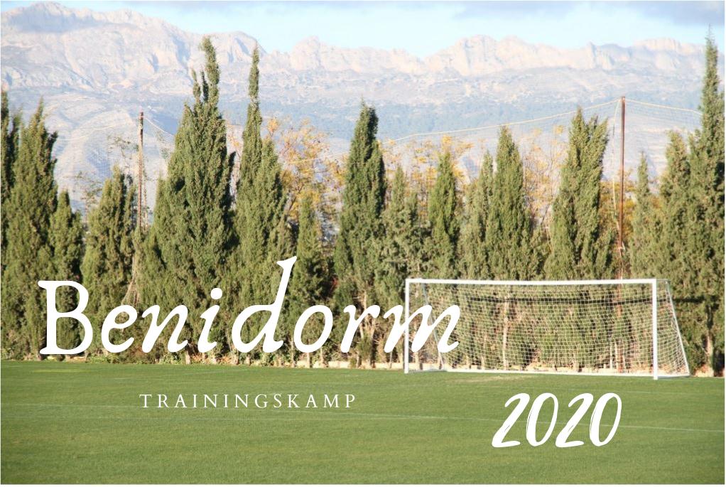 Corenos start voorbereiding op tweede seizoenshelft in Spaanse Benidorm