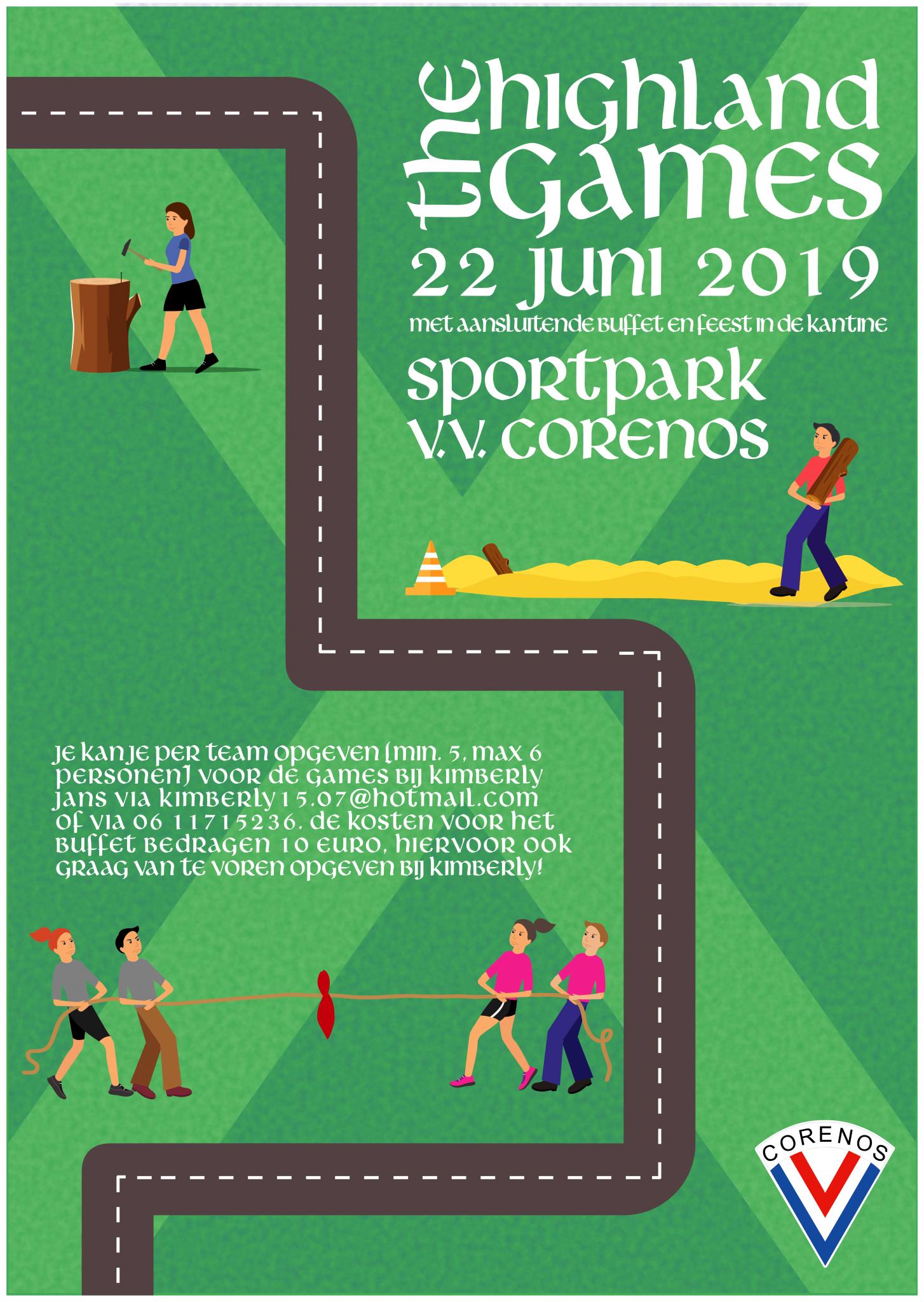 Seizoensafsluiting 22 juni 2019: Highland Games