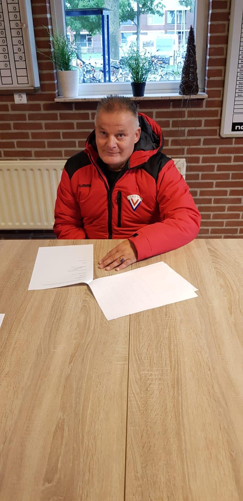V.V. Corenos contracteert trainer voor 2e elftal