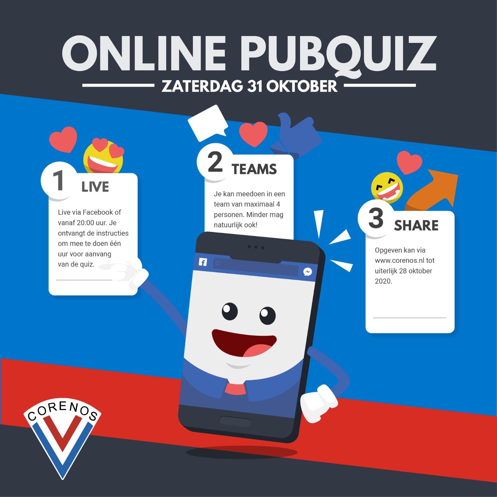 Online Pubquiz 31 oktober