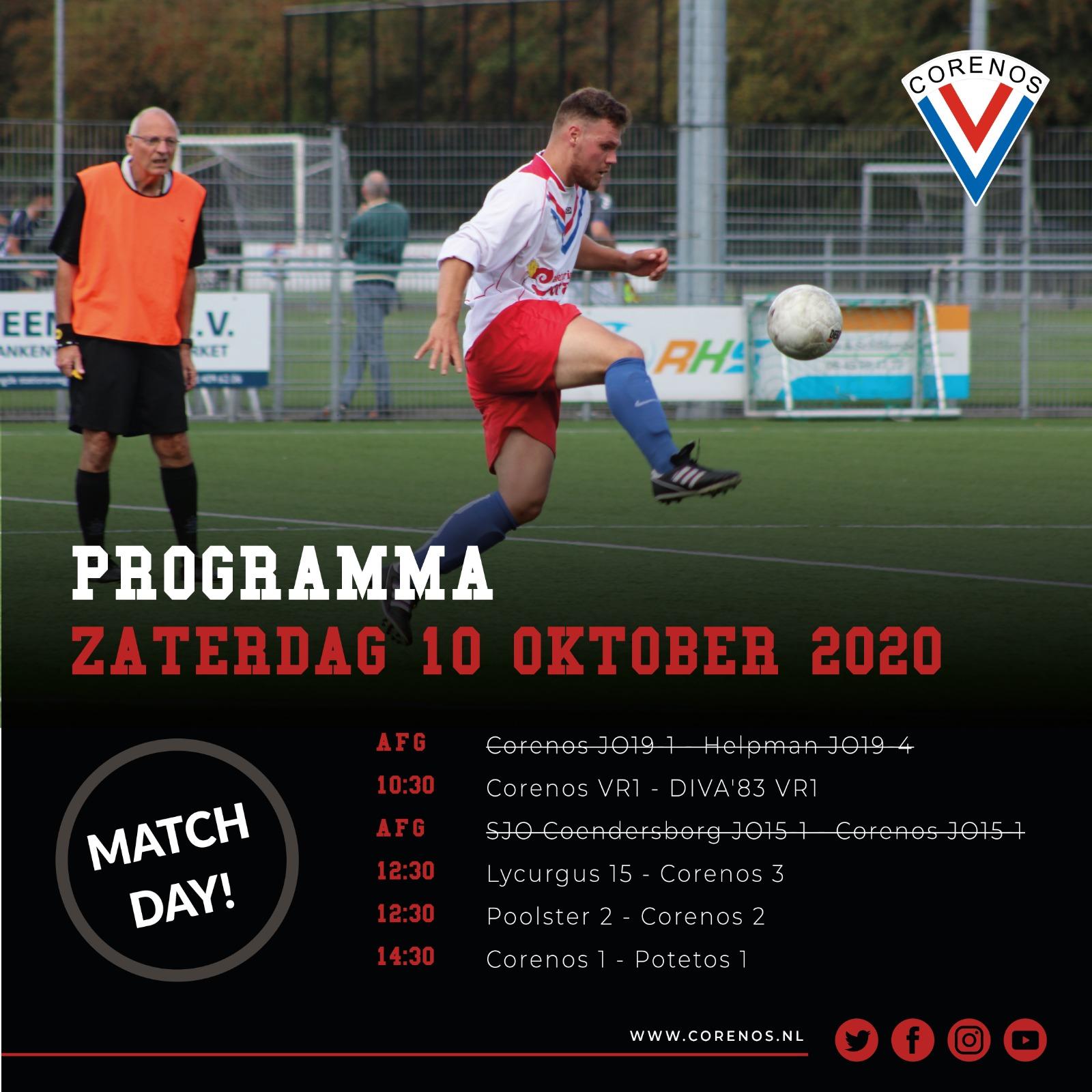 Programma 10 oktober