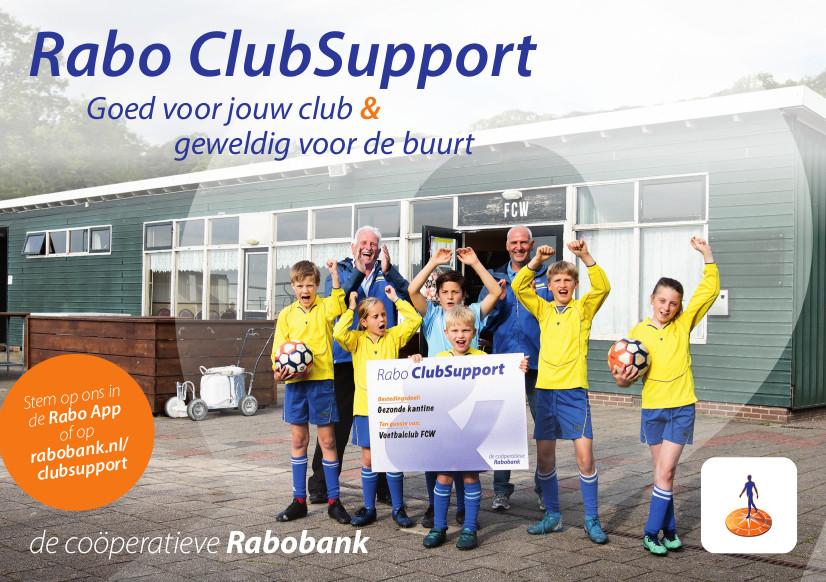 De stemperiode voor Rabo ClubSupport gaat van start